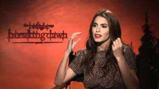 Nikki Reed Junket Interview: Breaking Dawn Part 1