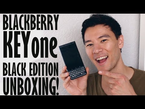 BlackBerry KEYone Black Edition Unboxing & First Impressions