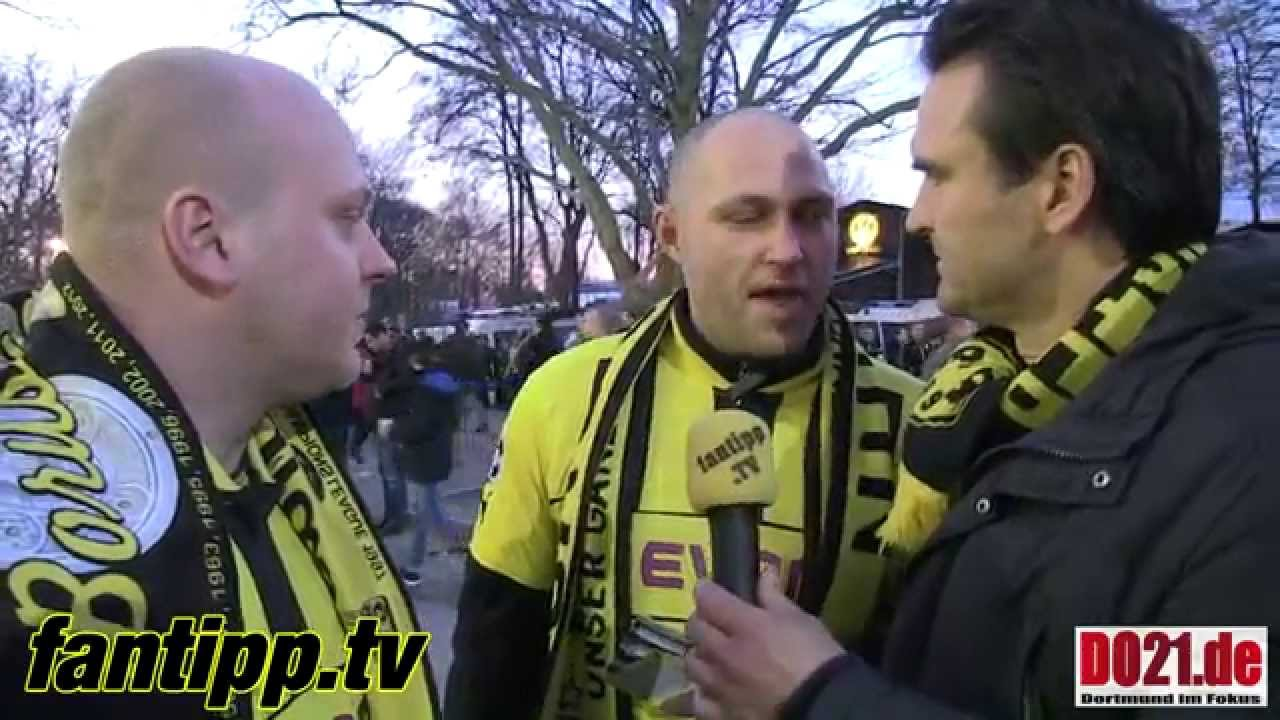 BVB - S04 (Randale) Fantipp - mit den besten Fans der Welt
