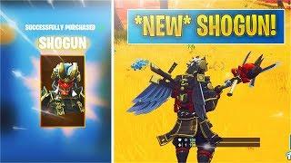 *NEW* Shogun Skin + Jawblade Pick! (Fortnite)