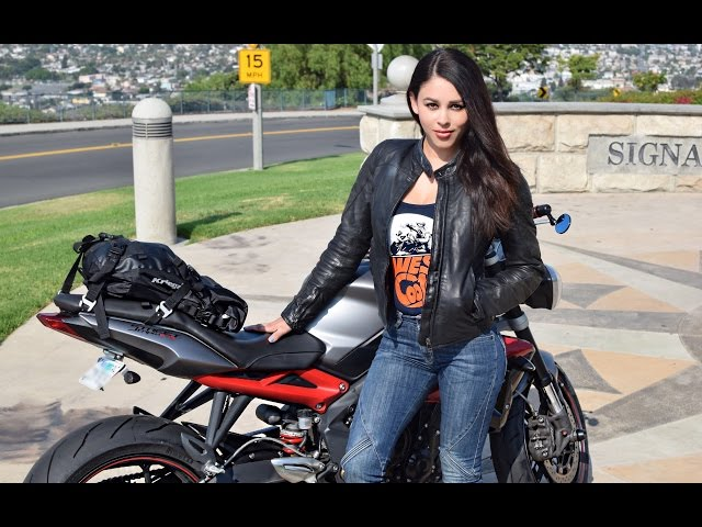 Dainese Mike Women's Leather Jacket | Raven Review