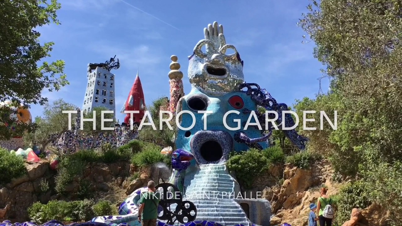 The Tarot Garden Niki De Saint Phalle Youtube
