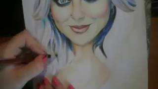 Perrie Edwards (Little Mix) - drawing by Elena Martynyuk