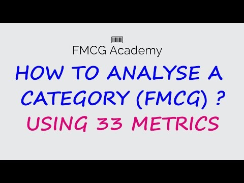 How to Analyse a Category (FMCG)