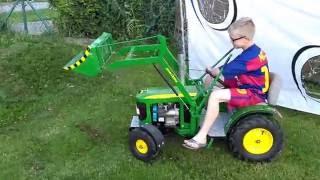 John Deere tractor for children 6