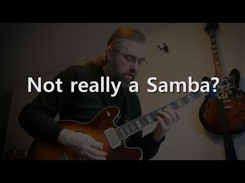 Not Really a Samba - Jazz Guitar Solo on I'll Remember April