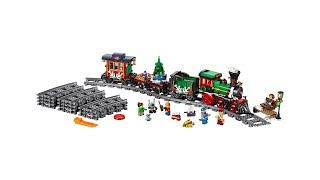 Конструктор Lepin 36001 - LEPIN Train Новогодний экспресс