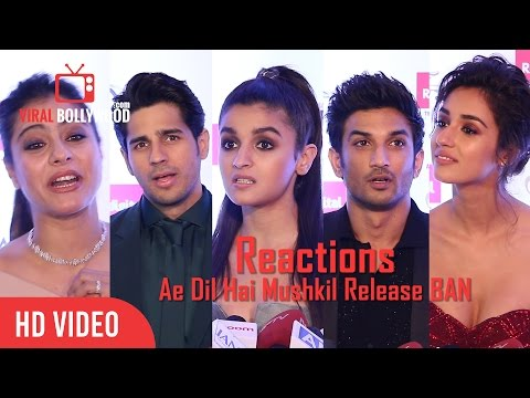 Thumbnail: Bollywood Celebrities Reaction | Ae Dil Hai Mushkil Release BAN | After Uri Incident