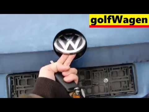 VW Golf 7 tailgate open remote control coding / delaying lockout