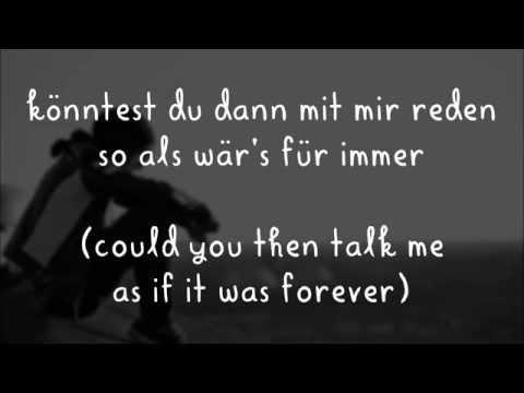 Letzte bahn - Silbermond (lyrics)