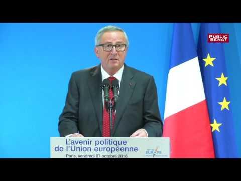 Jean-Claude Juncker : « Il faut cesser de parler des Etats-Unis d'Europe »