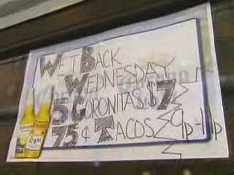 Wetback Wednesday Pittsburgh Bar Sign Causes