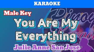 You Are My Everything by Julie Anne San Jose (Karaoke : Male Key)