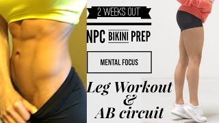 12 DAYS OUT: Prep Life, Mental Focus, Feeling Exhausted, & Intense Ping Pong. | NPC Prep 13