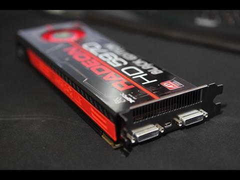 XFX HD 5970 Black Edition ATi Radeon Maxishine Video
