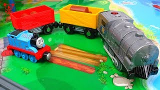 Trains for kids with Thomas the Train - Toy Train set Review - Kids Video - train set by imaginarium
