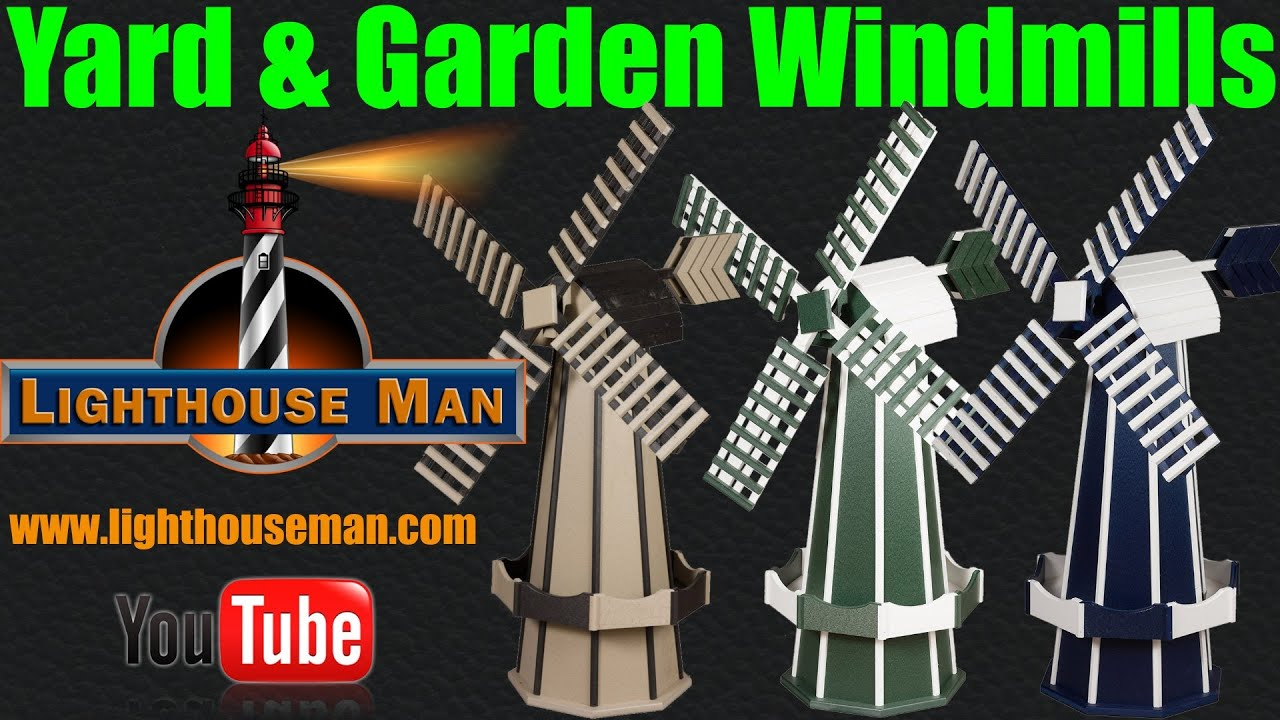 Spinning garden decorations - Decorative Ornamental Windmills For Your Yard Or Garden