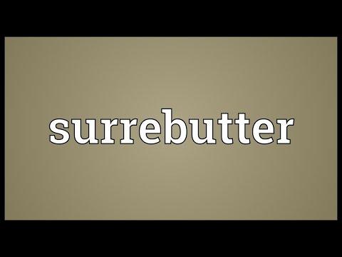 Header of surrebutter