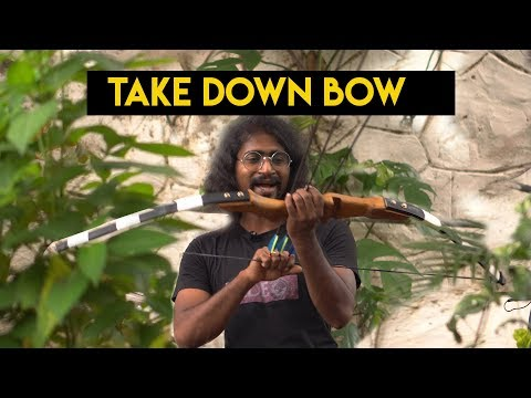 Making a powerful takedown bow using Bamboo and PVC