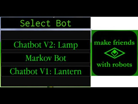 Chat Bots With Artificial Intelligence GAMEPLAY! (+gameplay With Friends) - Roblox