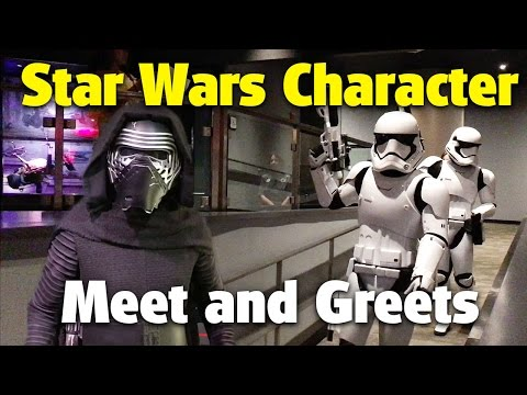 Star Wars Launch Bay Characters | Disney's Hollywood Studios