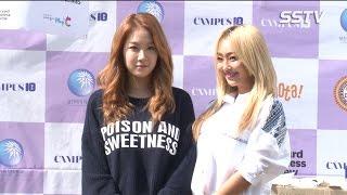 [SSTV] 씨스타(SISTAR) 효린-소유, 여대 캠퍼스에 떴다? '화끈한 모교 간식 어택!'
