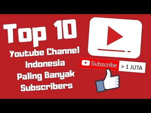 Top 10 Youtube Channel Indonesia 2018/2019