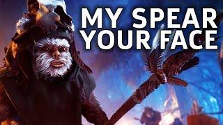 Become The Ewok - Star Wars Battlefront 2 Gameplay