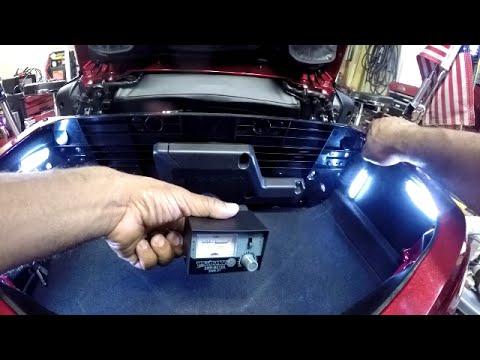 honda goldwing gl1800 trunk light installation