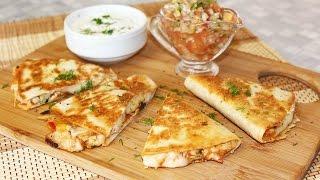 кесадилья рецепт с курицей и кукурузой