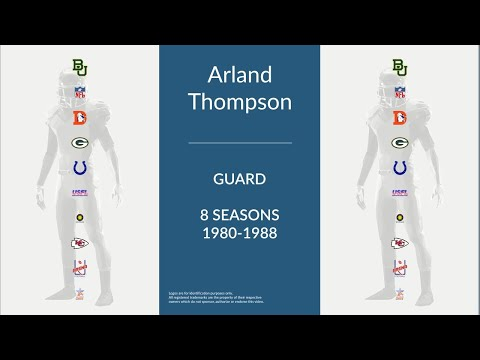 Arland Thompson: Football Guard
