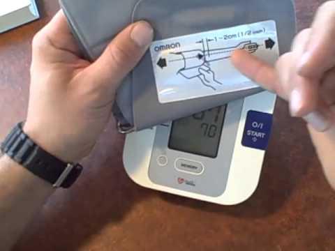 Autómata vérnyomásmérő helyes használata - YouTube