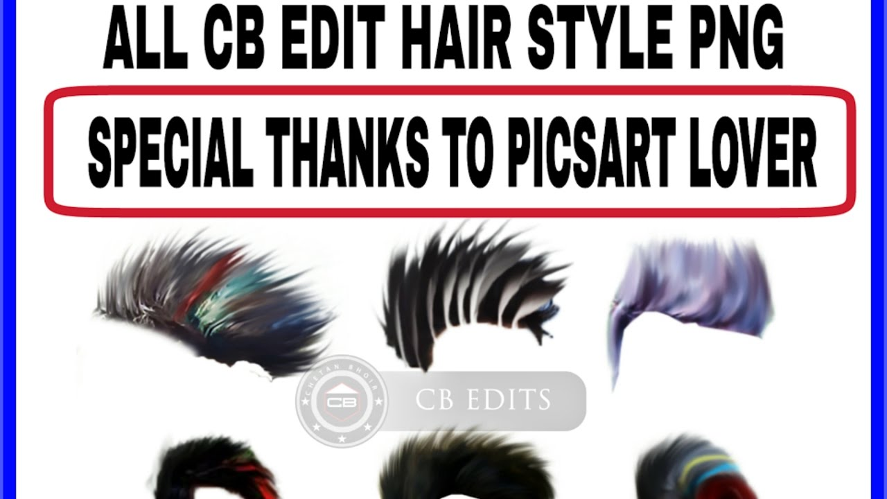 Hairstyle Png Picsart Editing