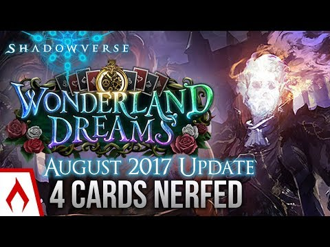 [Shadowverse] EACHTAR FINALLY NERFED! August 2017 Balance Changes