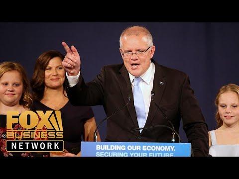 Australia's conservative coalition pulls off surprise election victory
