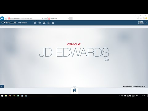 JD Edwards EnterpriseOne 9.2 Demo Installation in Less Than 10 Minutes!