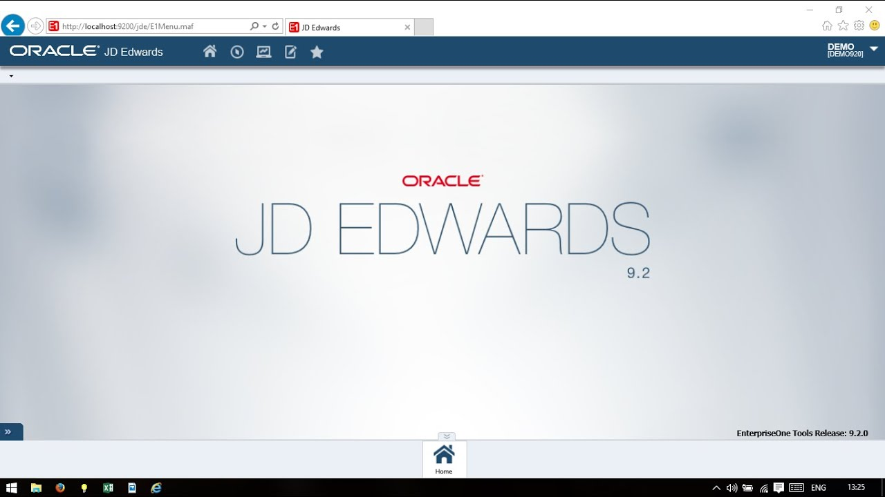 0e05b746a641 JD Edwards EnterpriseOne 9.2 Demo Installation in Less Than 10 Minutes!