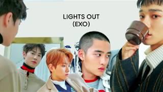 EXO - Lights Out Lyrics (Rom/Han/Eng)