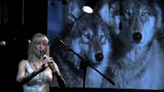 Gera Clark performs Wind on the Mountain