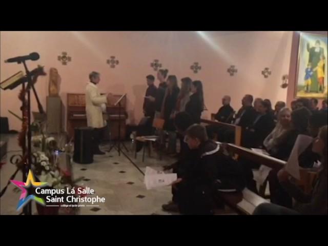 Messe de noël au Campus La Salle Saint Christophe