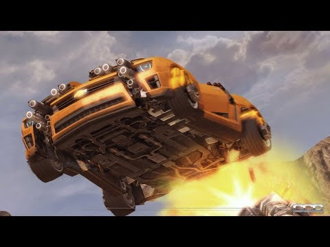 Transformers 3 The Game Walkthrough Capitulo #1 Bumblebee