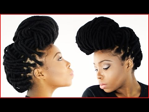 Yarn Wraps Maintenance | How To Take Care of Your Yarn Dread Hairstyle (Tutorial Part 3 of 6)