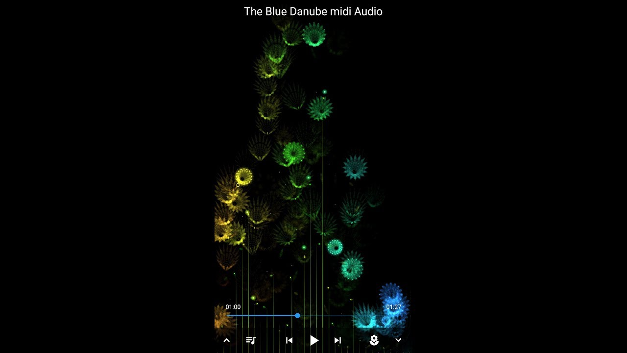 Super Cool Music Visualization Player for Android