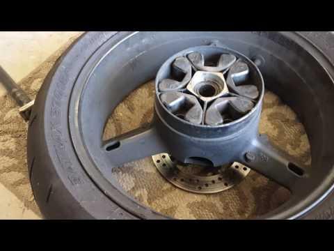 DIY Suzuki GSXR 750 600 Cush Drive Bushing Replacement