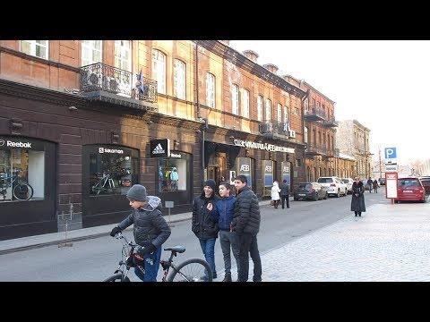 Yerevan, 28.01.18, Su, Video-1, (на рус.), ул. Арами (Спандаряна), (ч.1).