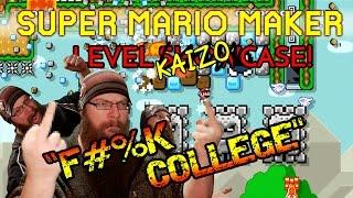 Super Mario Maker - F#%K COLLEGE - KAIZO COLLEGE SOSHELL STUDIES