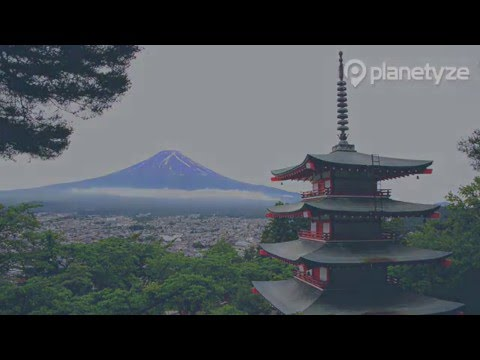 Arakurayama Sengen Park,Yamanashi | One Minute Japan Travel Guide