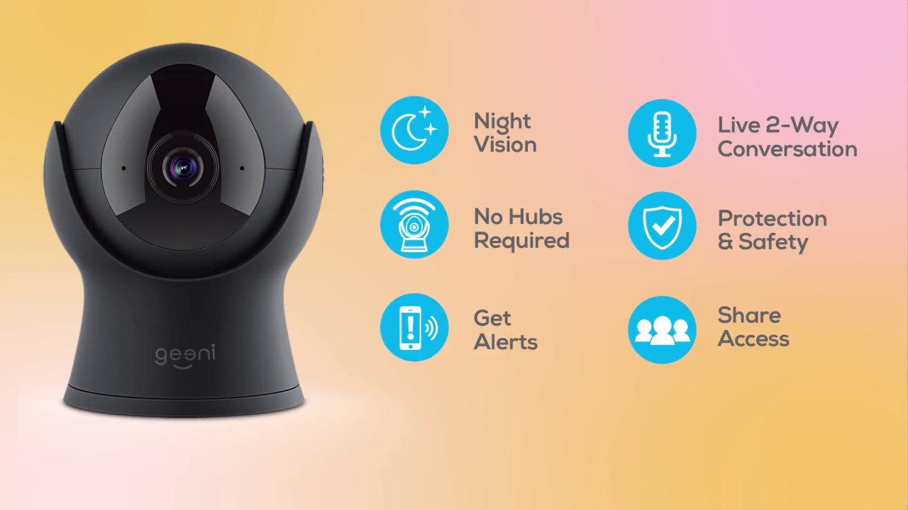 Geeni Vision HD Wi-Fi Camera Features Video
