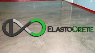 How To Pour An ElastoCrete Floor Over Tile In 2 Days