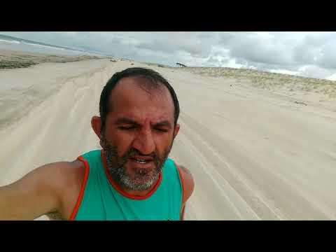 Trabalho de força na Praia da Barra Nova para Águas Belas